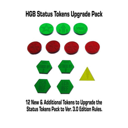 Heavy Gear Blitz Status Tokens Upgrade Pack