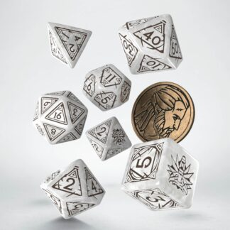 Geralt - The White Wolf Dice Set | The Witcher