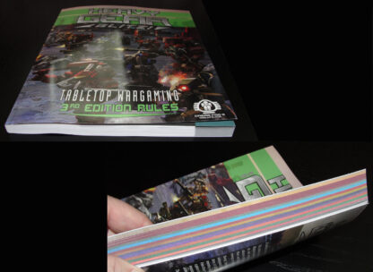 Heavy Gear Blitz 3rd Edition Rules – page edges