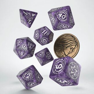 Yennefer - Lilac and Gooseberries Dice Set | The Witcher
