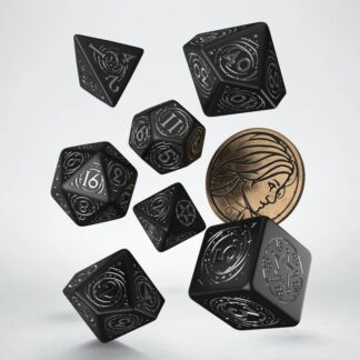 Yennefer - The Obsidian Star Dice Set   The Witcher