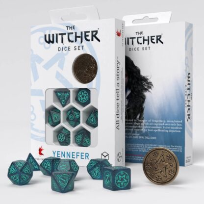 Yennefer - Sorceress Supreme Dice Set with packaging   The Witcher
