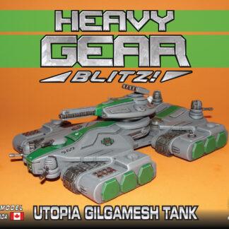 Utopia Gilgamesh Tank   Heavy Gear Blitz!