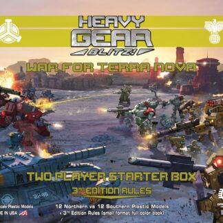 War for Terra Nova: 2 Player Starter Box | Heavy Gear Blitz!