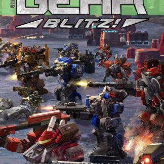 Half-size Heavy Gear Blitz 3rd Edition Rulebook